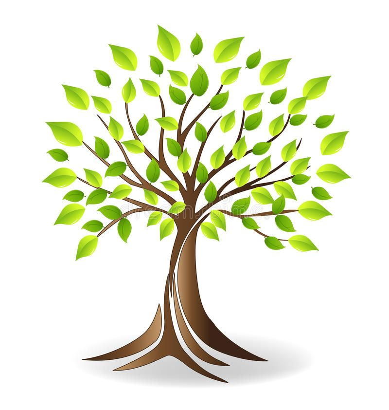 Family Tree Logo - family tree logo design ecology family tree logo stock vector ...