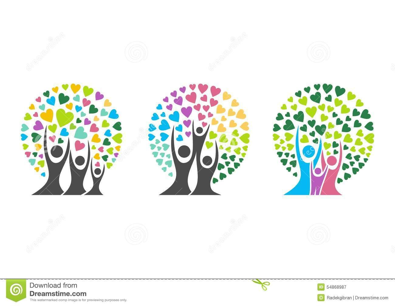 Family Tree Logo - Family Tree Logo,family,parent,kid,heart,parenting,care,circle ...