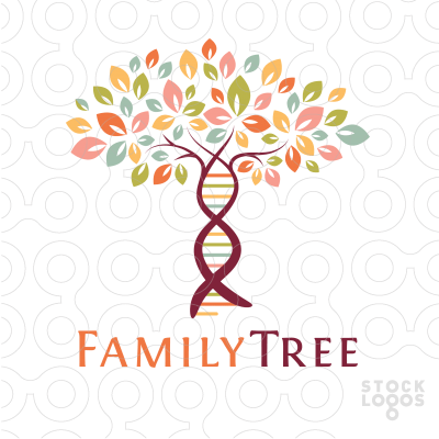 Family Tree Logo - Family Tree genetics | StockLogos.com | ancestry family tree ...