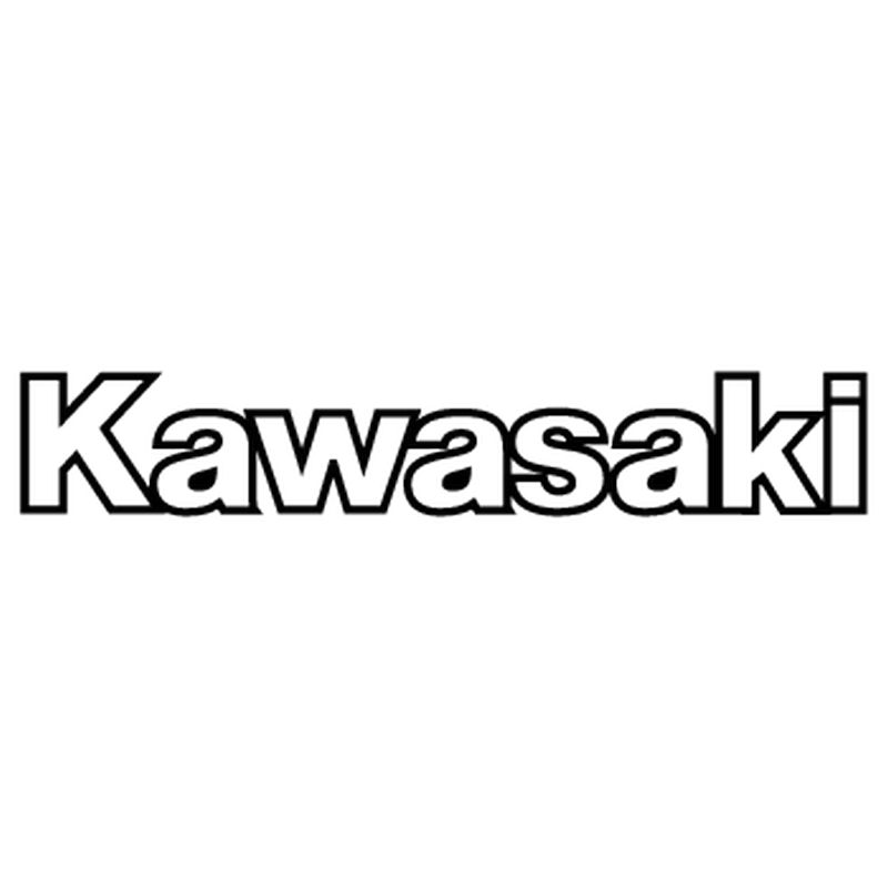 Kawasaki Logo - kawasaki logo kawasaki logo outline sticker download - Bbwbettiepumpkin