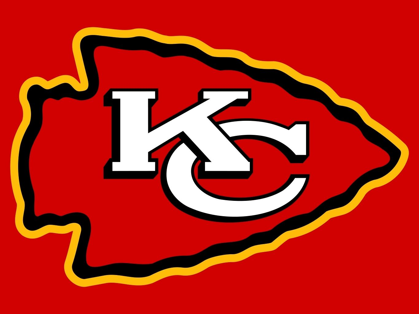 Kansas City Chiefs Logo - Pin by Diana Lehmann on painting | Kansas City Chiefs, Kansas city ...