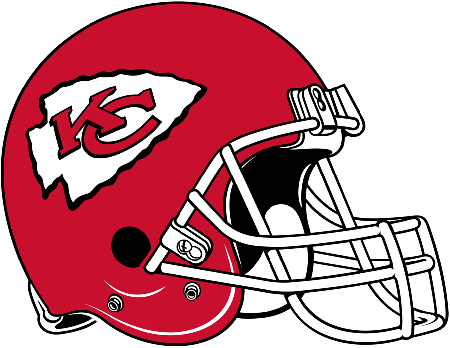 Kansas City Chiefs Logo - Kansas City Chiefs Helmet - National Football League (NFL) - Chris ...