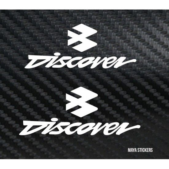 Discover Logo - Bajaj Discover logo stickers buy online. Pair of 2 stickers ...