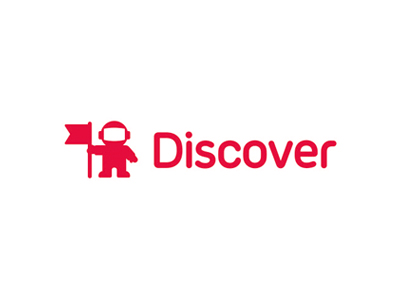 Discover Logo - Discover: astronaut for online marketing logo design by Utopia ...