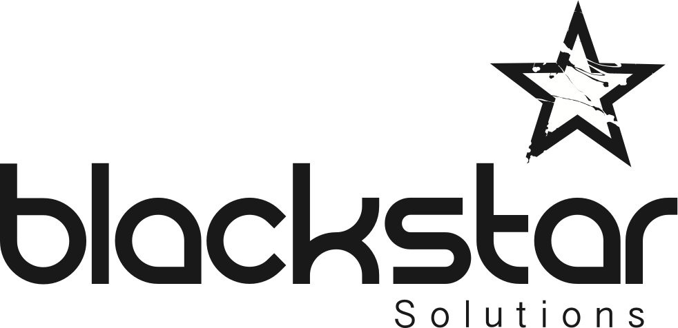 Black Star Logo - Blackstar Solutions - Cloud Telephony | Connectivity | Infrastructure