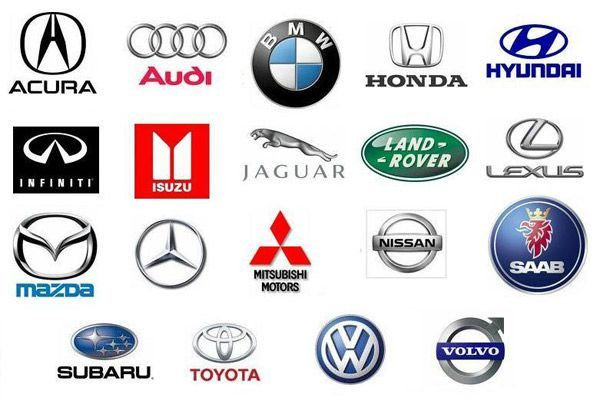 Chinese Car Brands Logo - Collection of most reliable top cars brand logos and names list ...