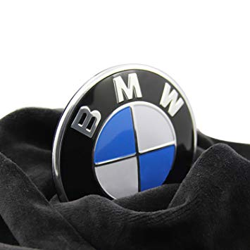 BMW Logo - Amazon.com: Emblem Logo Replacement for BMW Hood/Trunk 82mm for ALL ...