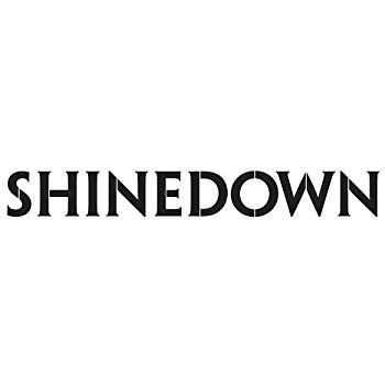 Shinedown Logo - Amazon.com: Shinedown Logo Decal Sticker, H 1.25 By L 9 Inches ...