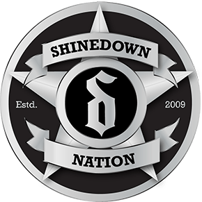 Shinedown Logo - Official Website of Shinedown Shinedown Nation Package Upsell ...