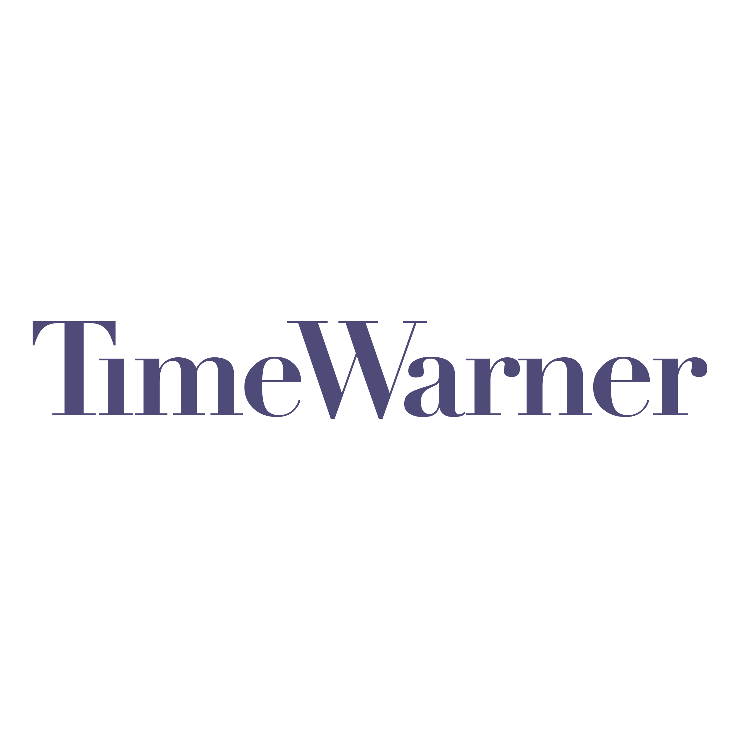 Time Warner Logo - Time Warner Logo PNG Transparent & SVG Vector - Freebie Supply