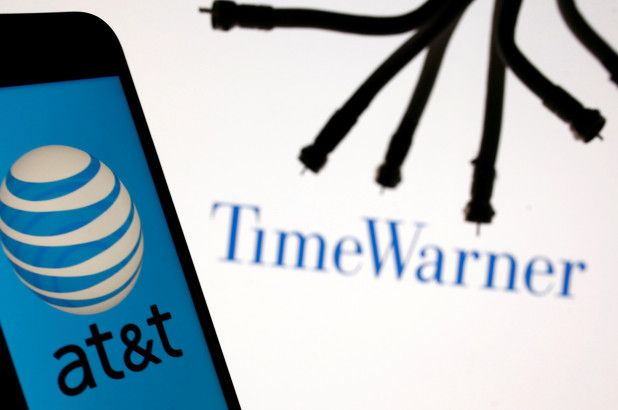 Time Warner Logo - AT&T, Time Warner complete $85B merger