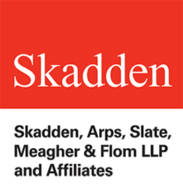 Skadden, Arps, Slate, Meagher & Flom Logo - LEGAL ADVOCATE OF THE YEAR 2017 « The Catalyst Awards