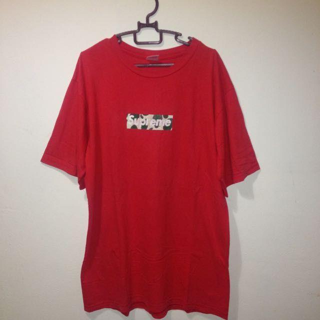 b50930c23 BAPE Supreme Red Logo - LogoDix
