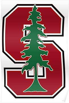 Standford University Logo - Stanford Ivy League Logo' Poster by Macbrittdesigns in 2019 ...