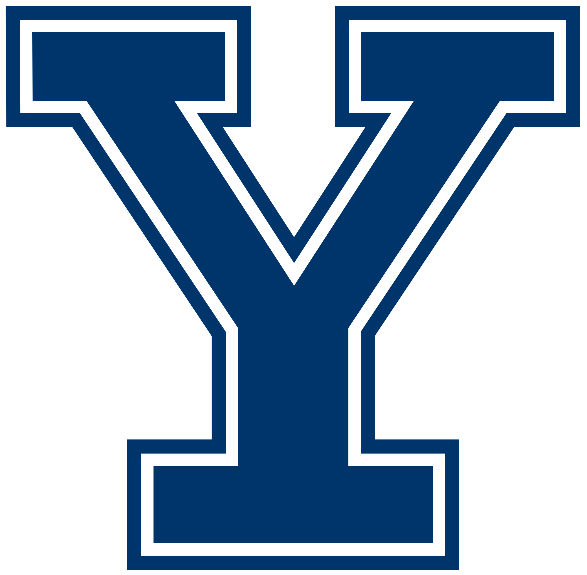 Yale Logo - File:Yale Bulldogs script.svg - Wikimedia Commons