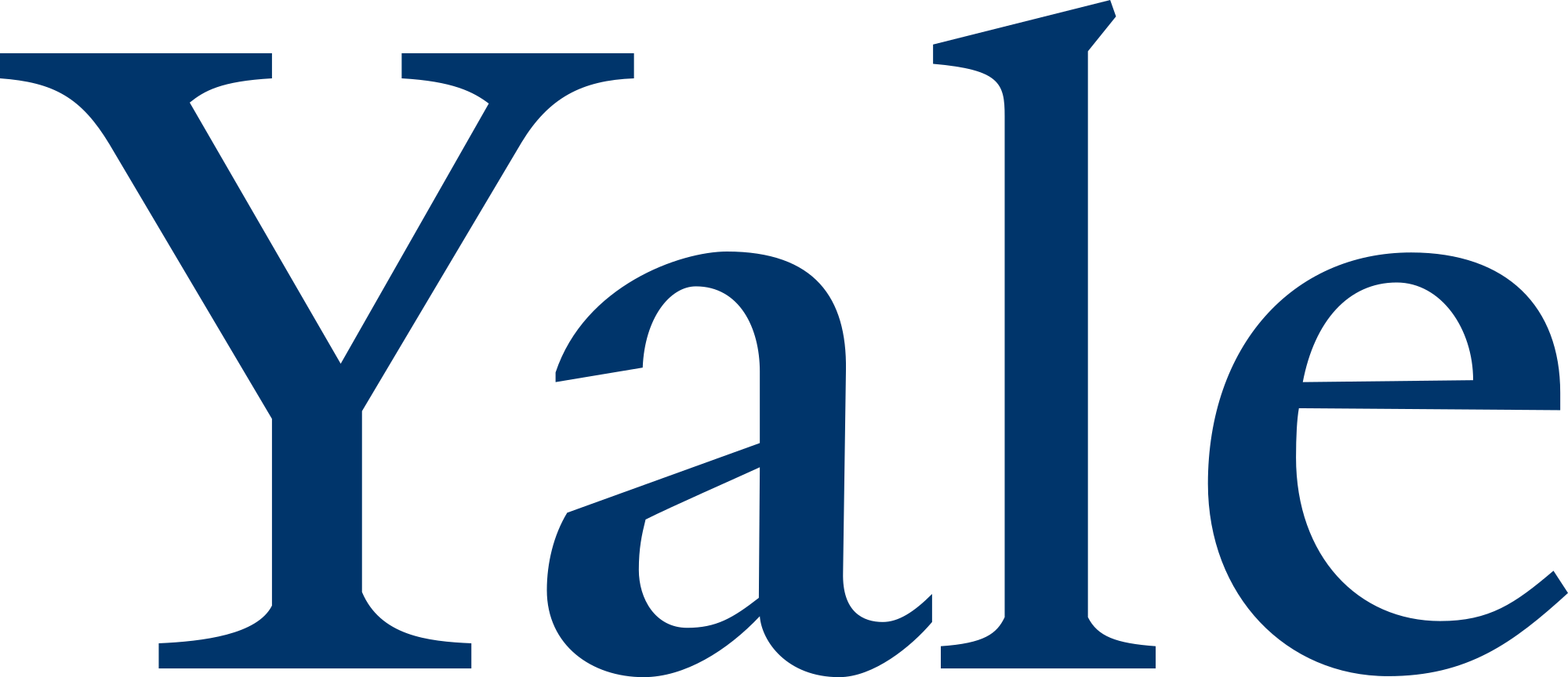Yale Logo - File:Yale University logo.svg - Wikimedia Commons