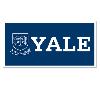 Yale Logo - The Yale Bookstore - Yale Bulldogs Horizontal Logo Banner from ...
