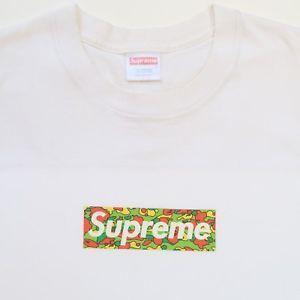 a9730979150f Bape Camo Supreme Box Logo - Supreme x A Bathing Ape Psyche Camo Box Logo  Tee
