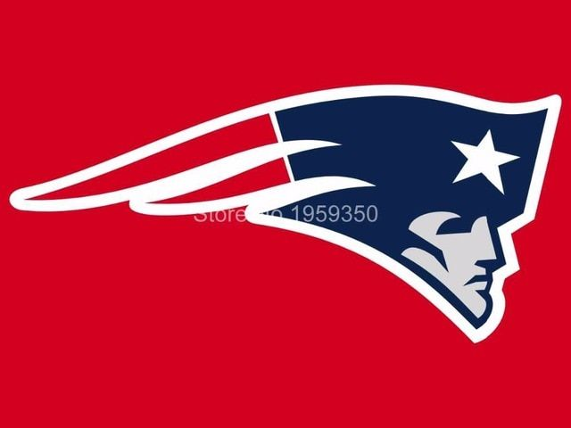 New England Patriots Logo - New England Patriots logo car flag 12x18inches double sided 100D ...