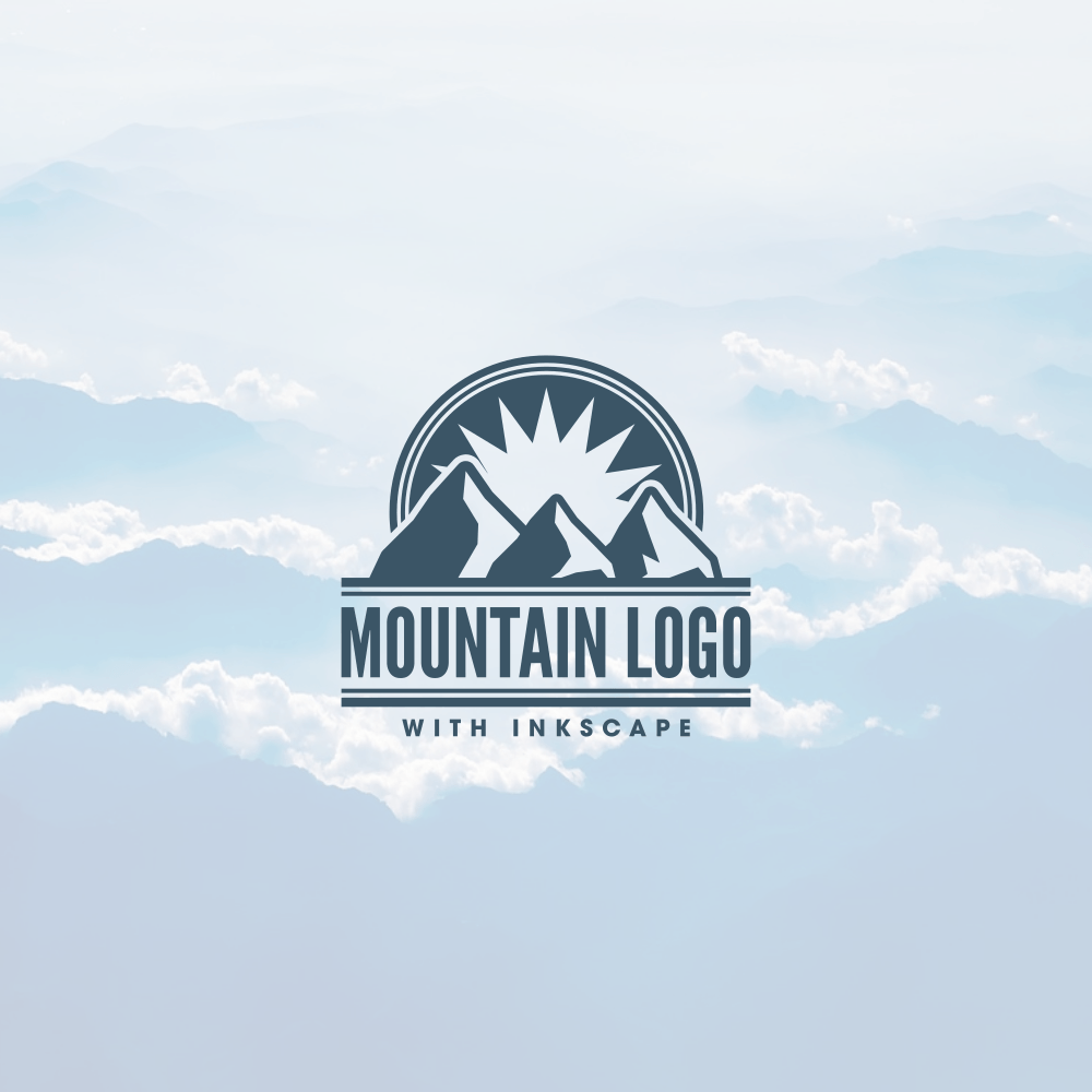 3 Blue Mountains Logo - LogoDix