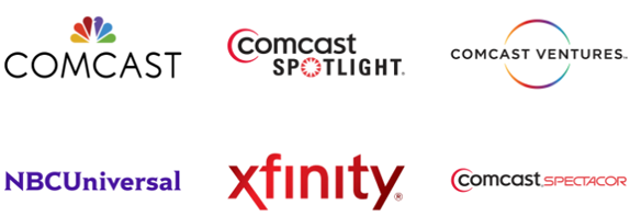 Comcast Logo - Brand New: Comcast Takes NBC Peacock Hostage