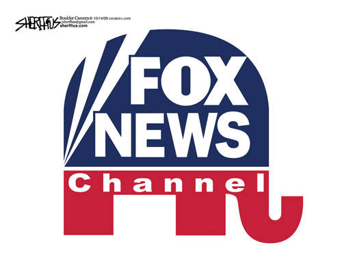 Fox News Logo - fox-news-gop-logo | Sky Dancing
