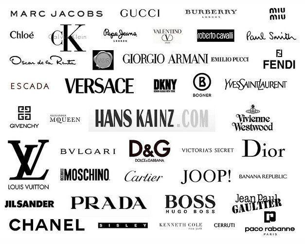 Famous Fashion Designer Logo Logodix