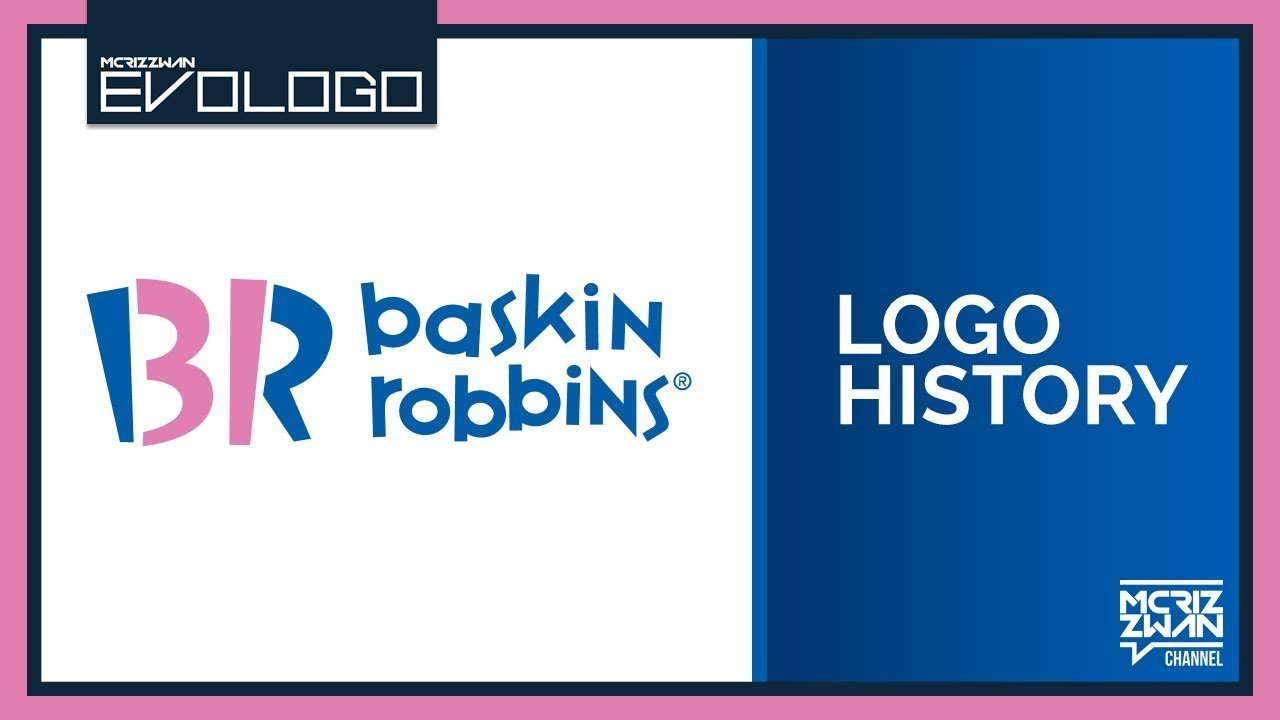 Baskin-Robbins Logo - Baskin Robbins Logo History | Evologo [Evolution of Logo] - YouTube