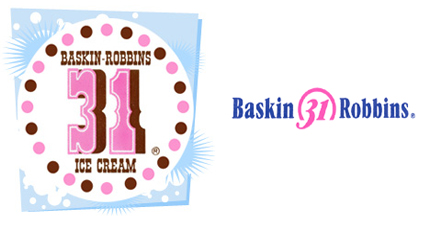 Baskin-Robbins Logo - Baskin-Robbins Logo - Design and History of Baskin-Robbins Logo