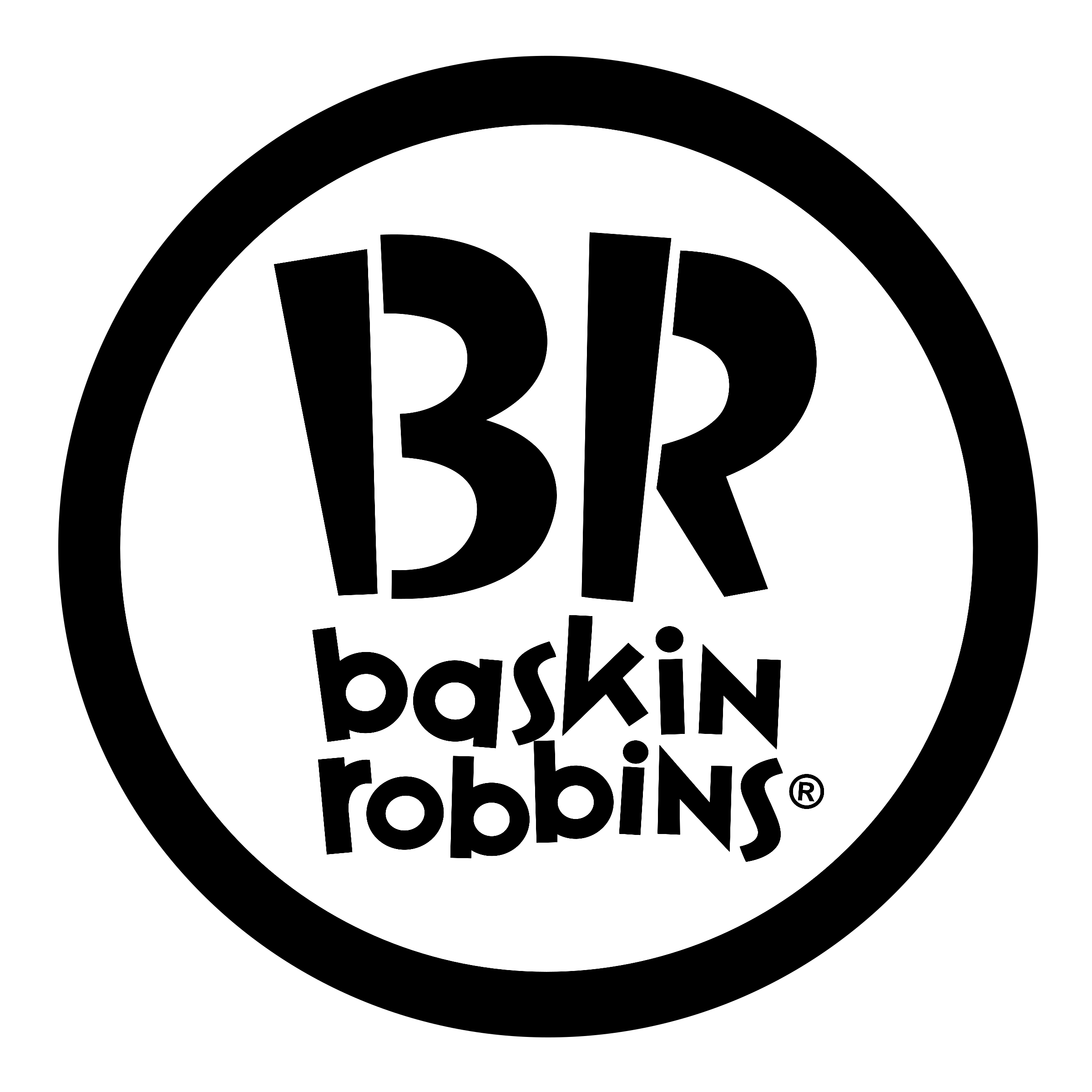 Baskin-Robbins Logo - Baskin Robbins Logo PNG Transparent & SVG Vector - Freebie Supply
