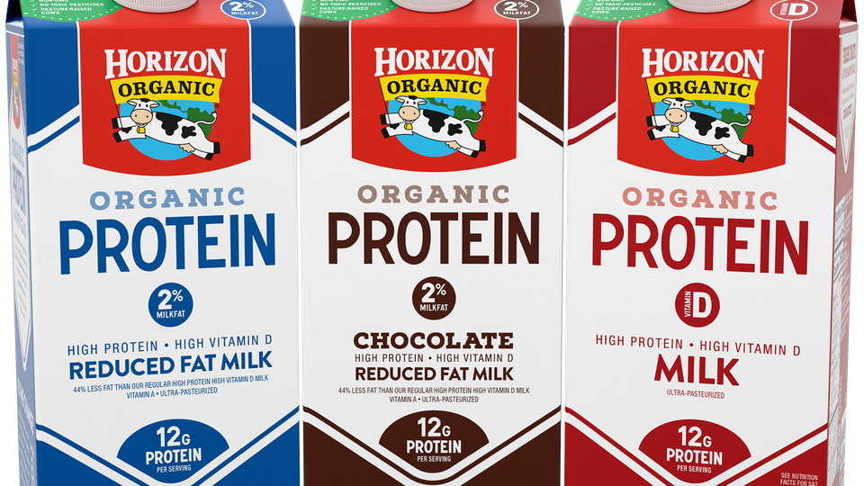 Horizon Organic Logo - Horizon Organic High Protein Milk Is Here & Yes, It Comes In Chocolate