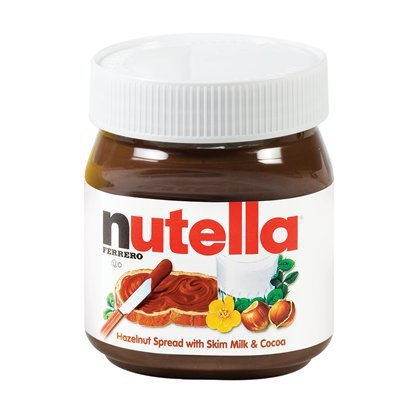 Nutella Logo - In the Nutella logo, only the letter 'n' is black. I just noticed ...