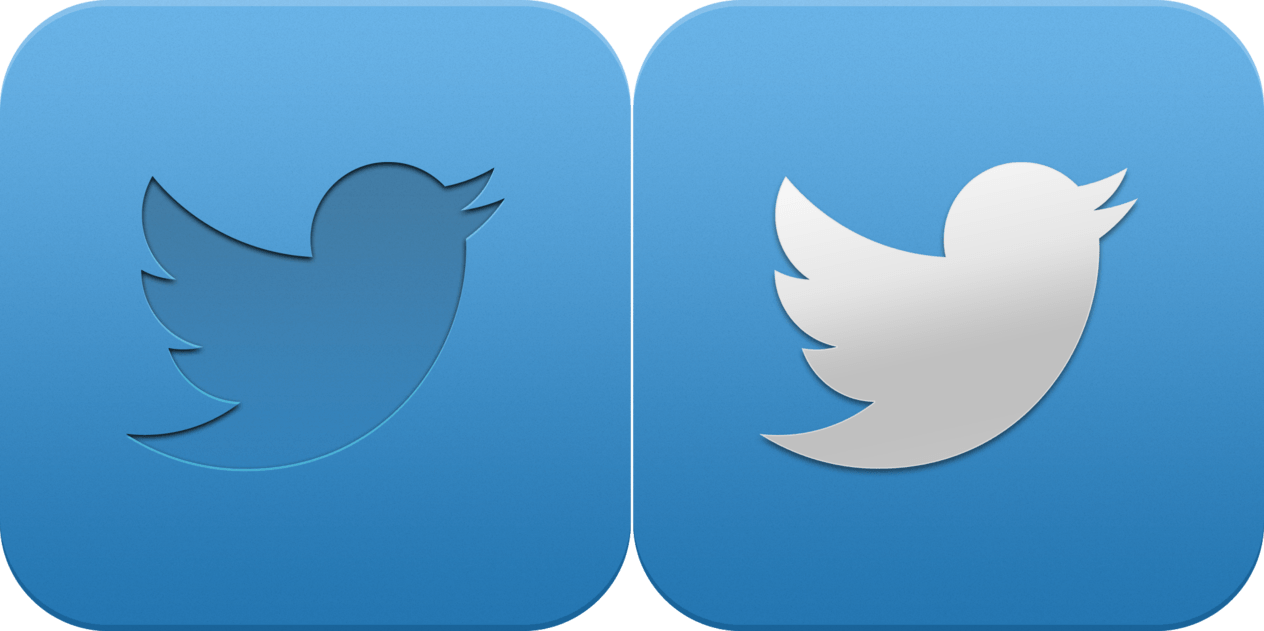Tweet App Logo - Free Twitter App Icon Vector 116801 | Download Twitter App Icon ...