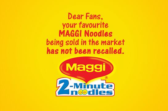 Maggi Logo - Maggi Noodles in SA not affected by India recall | eNCA