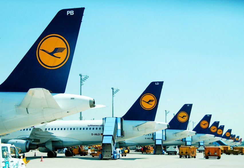 Lufthansa Logo - Lufthansa updates world's oldest airline logo as part of ...