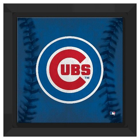 Chicago Cubs Logo - Chicago Cubs Logo Framed Canvas : Target