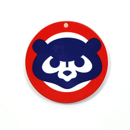 Chicago Cubs Logo - Chicago Cubs Throwback Logo Steel Magnet