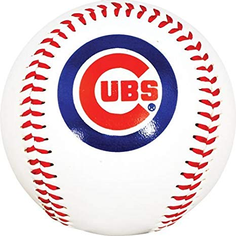 Chicago Cubs Logo - Amazon.com : MLB Chicago Cubs K2 Baseball with Team Logo : Sports ...