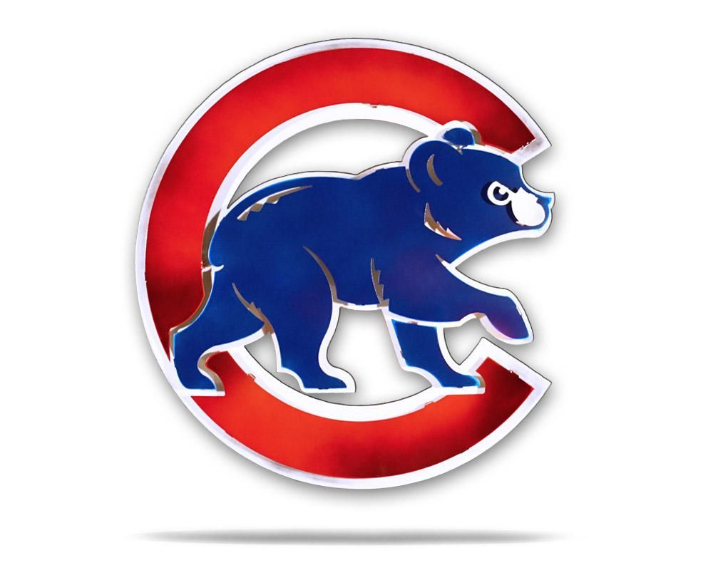 Chicago Cubs Logo - MLB Chicago Cubs - Hex Head Art