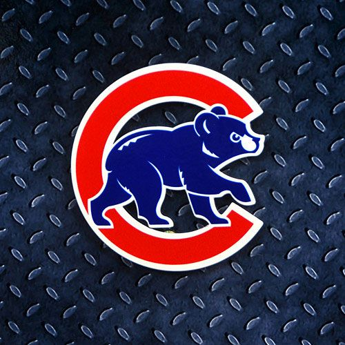Chicago Cubs Logo - Chicago Cubs Walking Bear Logo Steel Magnet