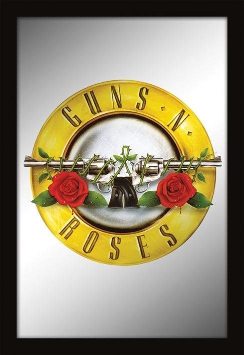 Guns N' Roses Logo - MIRRORS - guns n roses / logo Mirror | Sold at Abposters.com