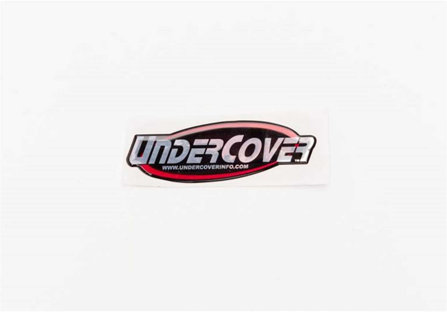 Undercover Logo - Undercover Logo Decal - Pickup Heaven