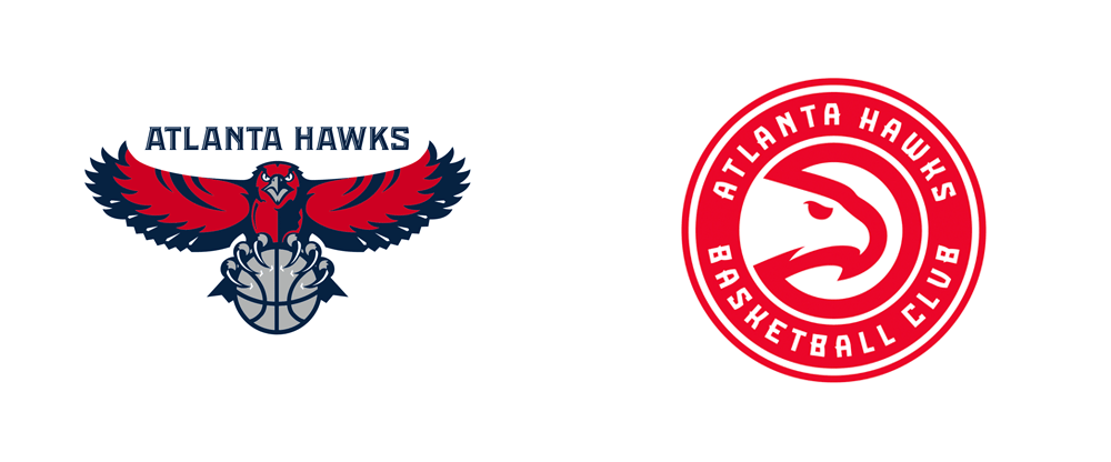 Atlanta Hawks Logo - Brand New: New Name and Logos for Atlanta Hawks Basketball Club