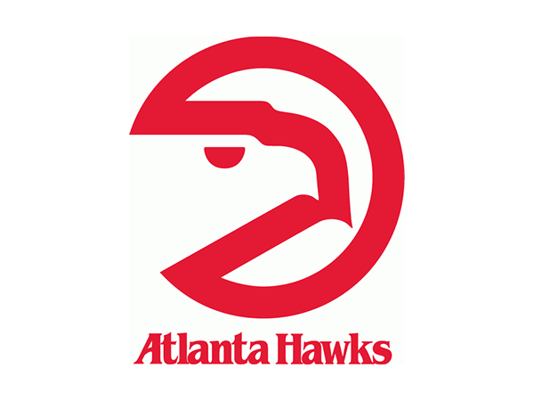 Atlanta Hawks Logo - Atlanta Hawks logo 1972/73 - 1994/95 | SPORTS | Atlanta Hawks, Hawk ...