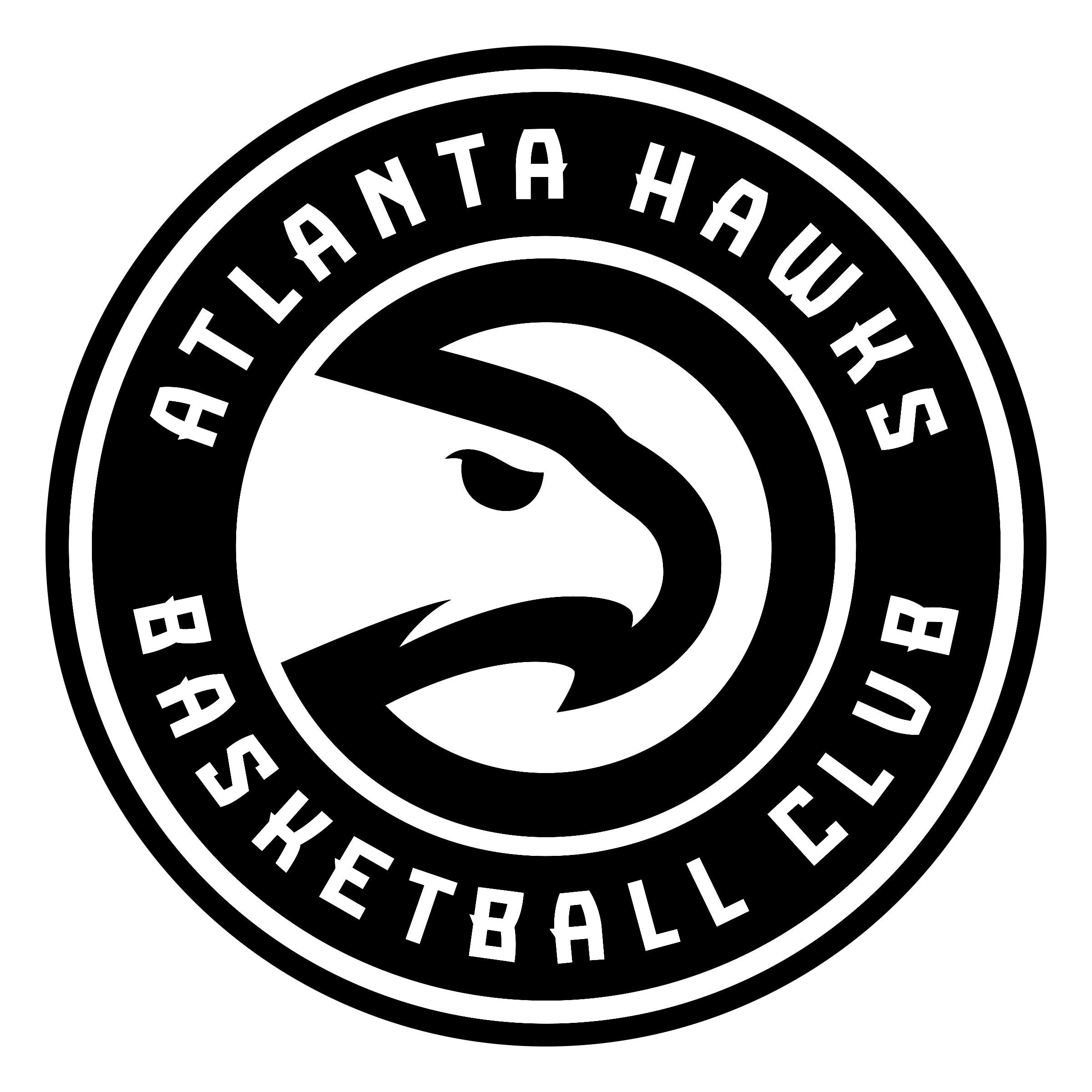 Atlanta Hawks Logo - Atlanta Hawks Logo PNG Transparent & SVG Vector - Freebie Supply