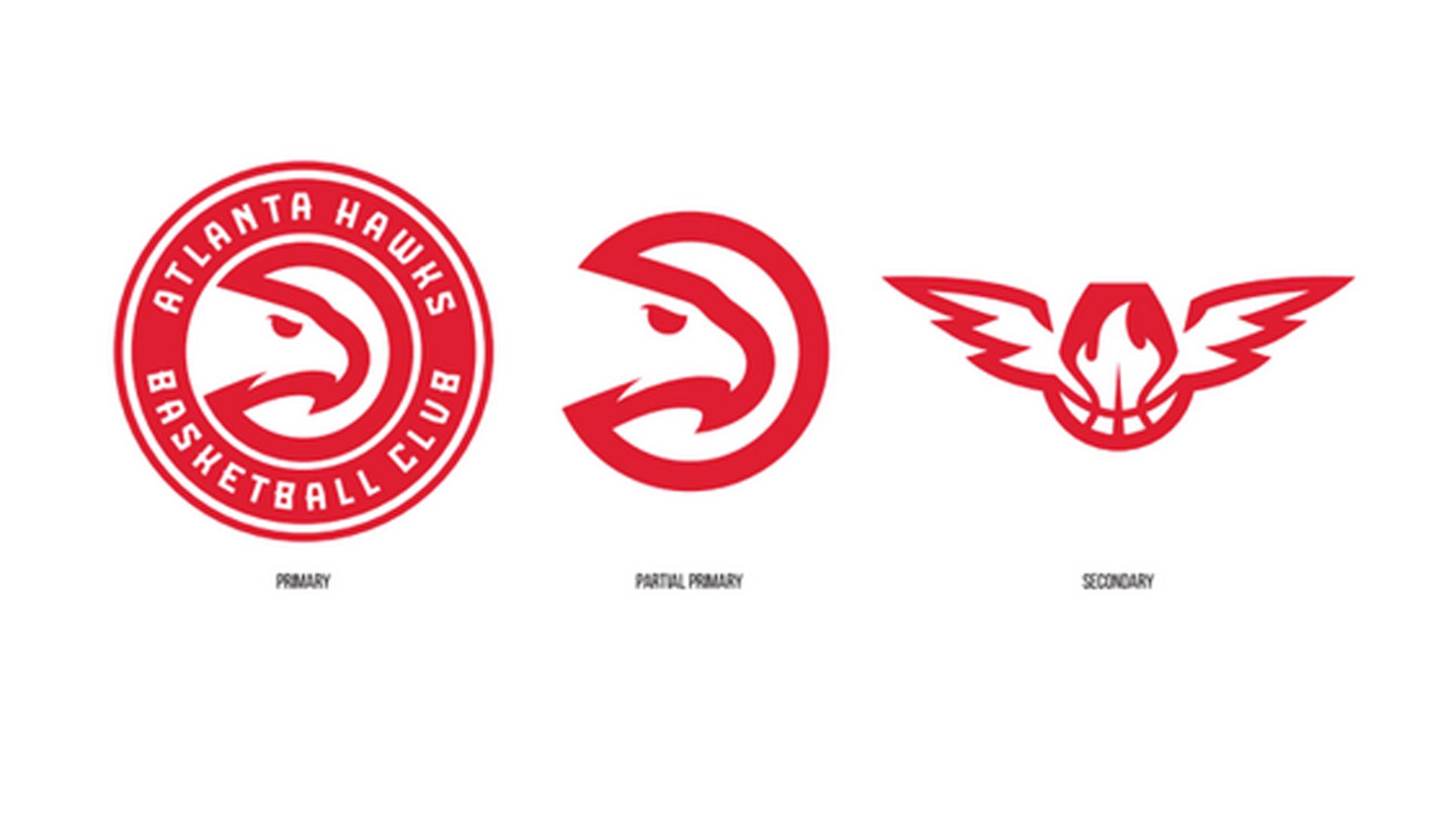 Atlanta Hawks Logo - The Atlanta Hawks unveiled their new logos on Monday. | Sporting News