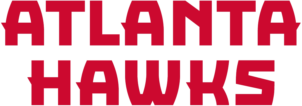 Atlanta Hawks Logo - Atlanta Hawks Wordmark Logo - National Basketball Association (NBA ...