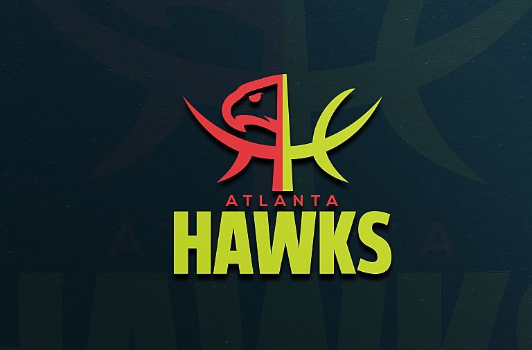 Atlanta Hawks Logo - Atlanta Hawks: A Unique Reimagining of the Hawks Logo