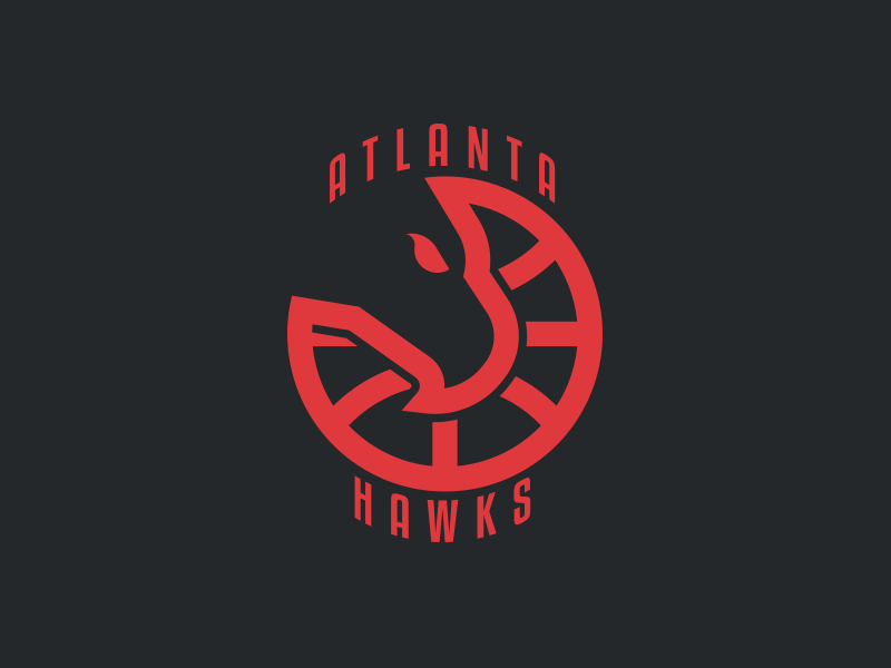 Atlanta Hawks Logo - Atlanta Hawks Logo Redesign - Day 1 of 31 by Anthony Salzarulo ...