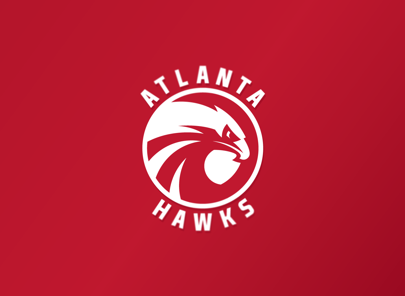 Atlanta Hawks Logo - Atlanta Hawks logo concept on Behance